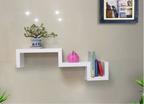 S-shaped Floating Shelf TXS007