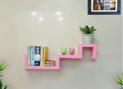 S-shaped Floating Shelf TXS010