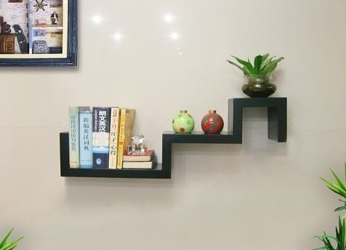 S-shaped Floating Shelf TXS011